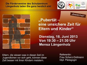 Plakat zum Vortrag