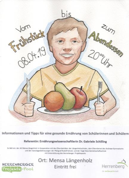 "Vortrag ""Gesunde Ernährung"""